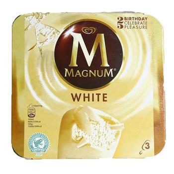 Walls Magnum White Ice Cream 120ml