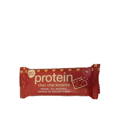 Keep It Cleaner Protein Bars  Choc Chip Brownie 40g