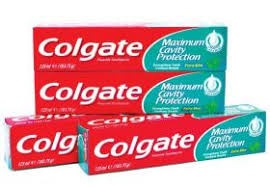 Colgate toothpaste xtra mint 4 x 125 ml