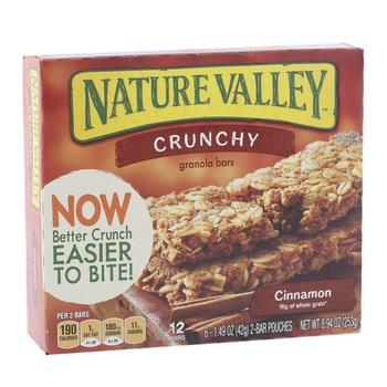Betty Crocker Natural Valley Gran Bar Cinnamon 250g