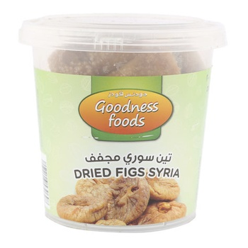 Goodness Foods Dreid Figs Syria (B) 200g