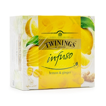Twinings Infuso Lemon & Ginger 50's