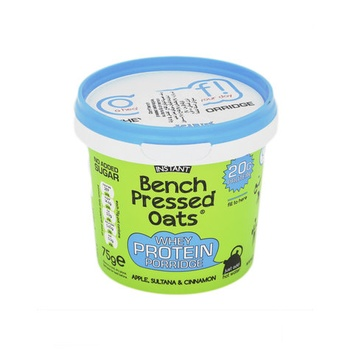 OOMF! Bench Pressed Oats High Protein Apple & Cinnamon 75g