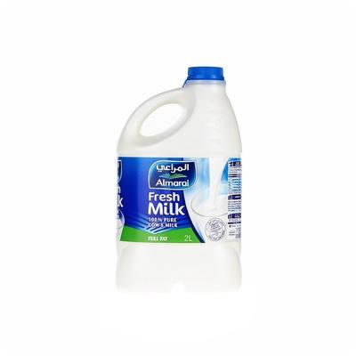 Almarai fresh full fat milk 2l