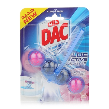 DAC Toilet Cleaner Blu Activ Fresh Flower 50g