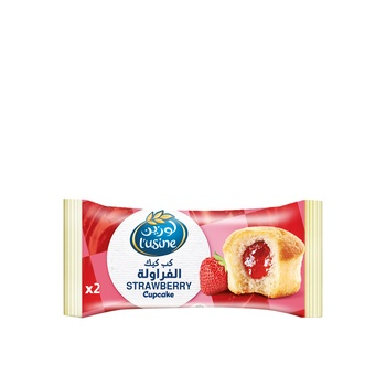 Lusine Strawberry Cupcake 2 Pcs