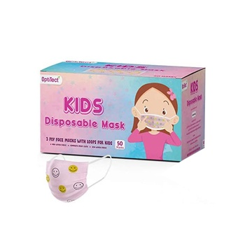 Face Mask Children 3 Ply 50s Girl
