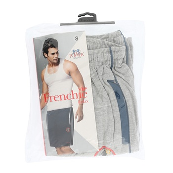 Frenchie Mens Capri Relax - S