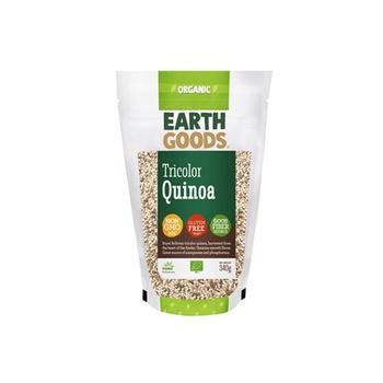 Earth Goods Organic Quinoa Tricolor 340g