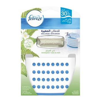 Febreze Air Freshener - Morning Dew Small Spaces 5.5 ml @ 25% Off