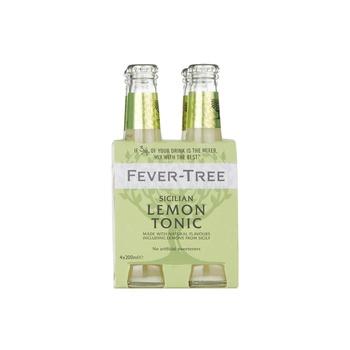 Fever Tree Lemon Tonic 4 X 200 ml