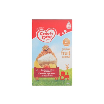Cow & Gate Tropical Fruit Cereal 200g