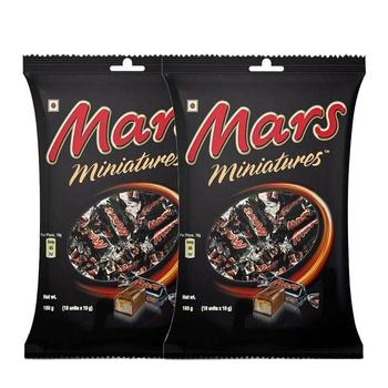 Mars Miniatures Chocolate 2x150g