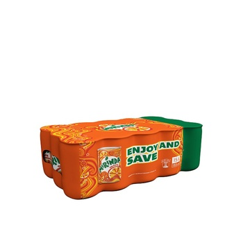 Mirinda Orange Carbonated Soft Drink Mini Cans 15 x 155 ml
