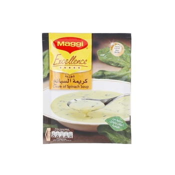 Maggi Excellence Cream Of Spinch Soup 4