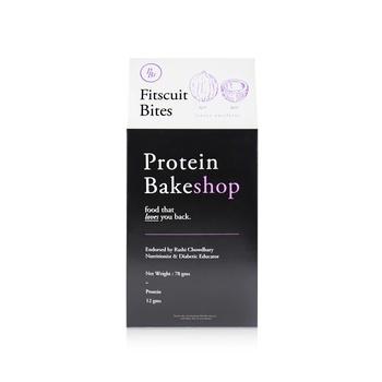 Fitscuits Bites  Protein Bakeshop 6 x 13g