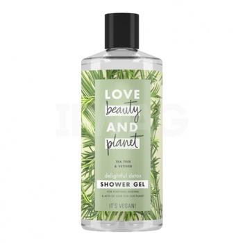 Love Beauty & Planet Tea Tree & Vetiver Body Wash 400 ml