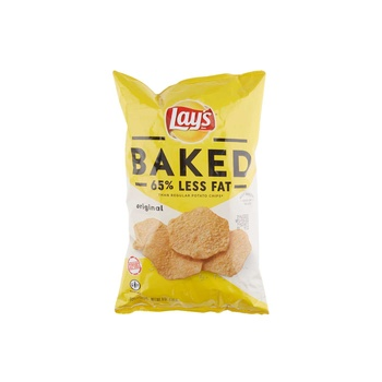 Lays Baked Low Fat Potato Chips Orange 6oz