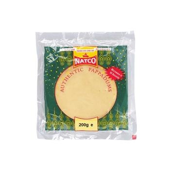 Natco Green Chilli Pappad 200g