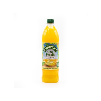 Robinsons Orange and Pineapple Fruit Squash Concentrate 1 litre