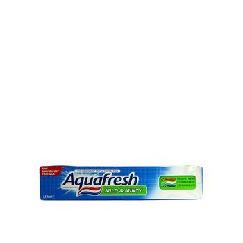Aquafresh Toothpaste Mild & Minty 125 ml