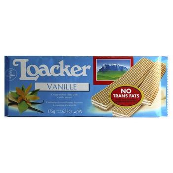 Loacker Vanilla Cream Wafers 175g