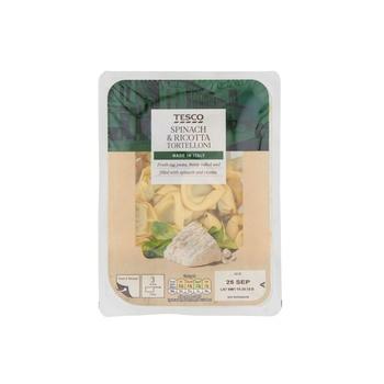 Tesco Spinach Ricotta Tortelloni 300g