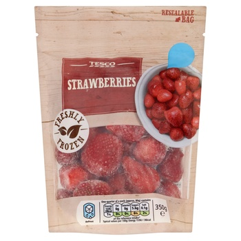 Tesco Strawberries Whole 350g