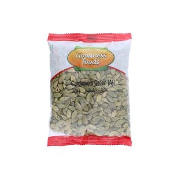 Goodness Foods Cardamom Green (A) 100g