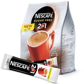 Nescafe 2in1 Sugar Free 25x11.7g