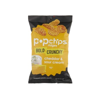 Pop Chips Ridges Cheddar & Sour Cream 14g