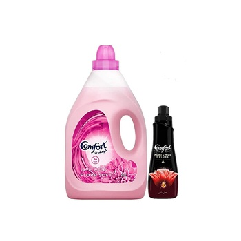 Comfort Flora Soft 4 ltr+ Perfumes De Luxe 650ml Free