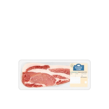 Woodside Farms Unsmoked Back Bacon 300g