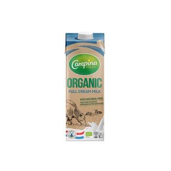 Campina Organic Full Cream Milk 1 ltr