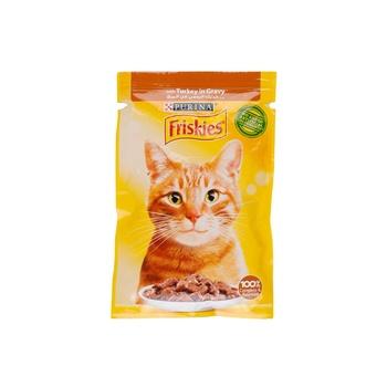 Friskies Cat Cig Turkey Pouch 85g