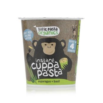 Little Pasta Organics Asparagus & Basil Pot 45g