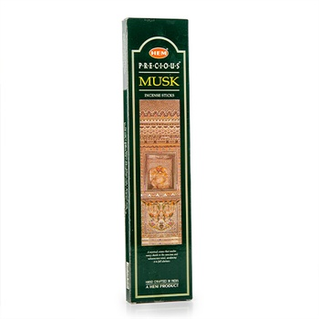 Hem Musk Agarbatti Authentic Fine Indian Garam Incense 20g