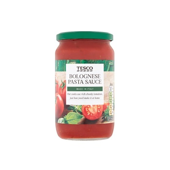 Tesco Bolognese Pasta Sauce 725g