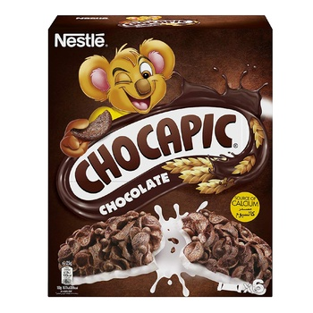 Nestle Chocapic Cereal Bar 6X25g @15% Off