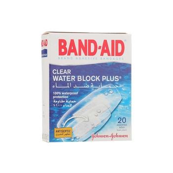 Johnson & Johnson Band Aid Clear Water Block Plus 1 X 20 pcs