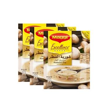 Maggi Soup Excellence Mushroom 3X54g