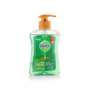 Dettol Gold Anti-Bacterial Liquid Hand Wash Daily Clean 200ml