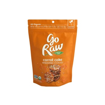 Go Raw Carrot Cake Organic Sprouted Cookies 85g