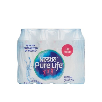 Nestle Pure Life Bottled Drinking Water 12 x 330 ml