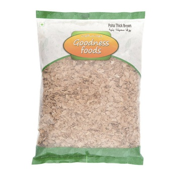 Goodness Foods Poha Thick Brown 500g