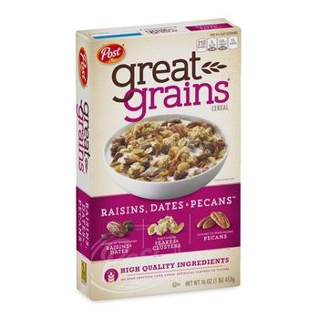 Post Great Grains Raisins Dats Pecans 16 OZ