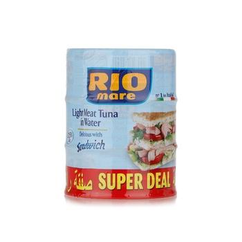 Rio Mare Tuna Sandwich Water 160g Pack Of 3