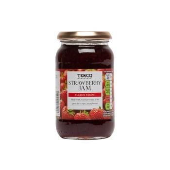 Tesco Strawberry Jam 454g
