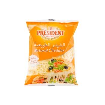 President Shredded Cheddar 200g