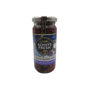 Always Fresh Kalamata Olives Sliced 220g